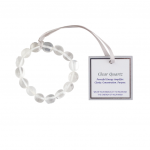 The Wish Clear Quartz Bracelet