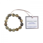 The Wish Dalmation Jasper Bracelet
