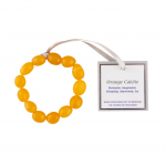 The Wish Orange Calcite Bracelet