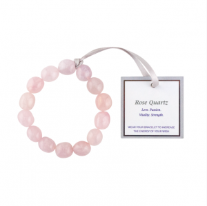 The Wish Rose Quartz Bracelet